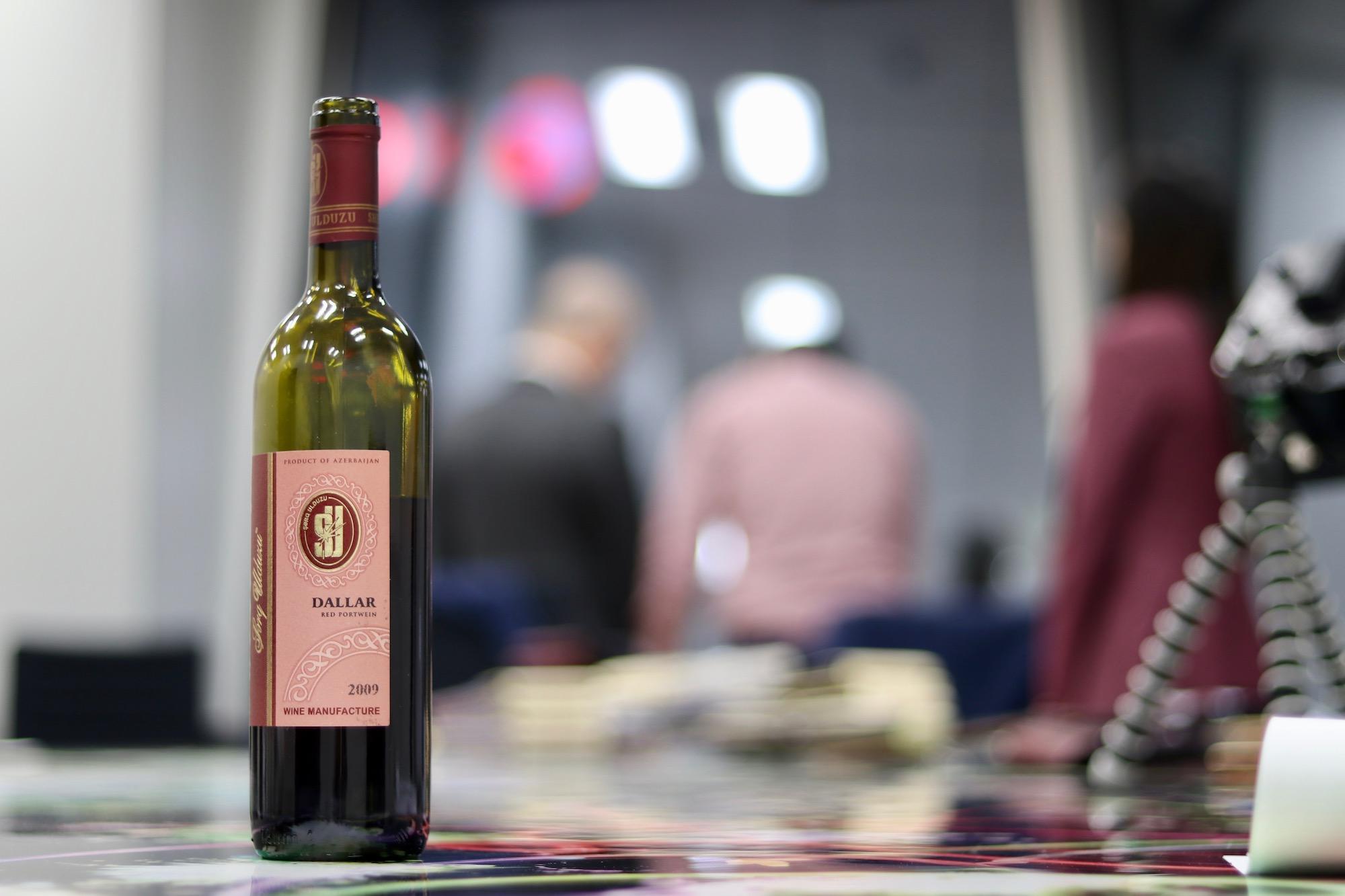 来場者へのワイン